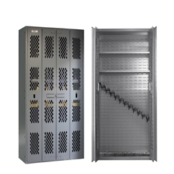 SecureIt Tactical Model 72: 12 Gun Storage Cabinet