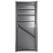 SecureIt Tactical Model 84: 12 Gun Storage Cabinet with Three Adjustable Shelves - SEC-300-12R