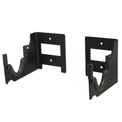 SecureIt Tactical Rifle Mount - Display one rifle horizontally with two brackets