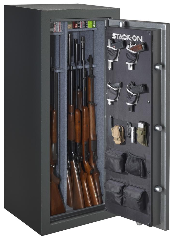 Stack On Total Defense 22 24 Gun Safe W Combination Lock Td