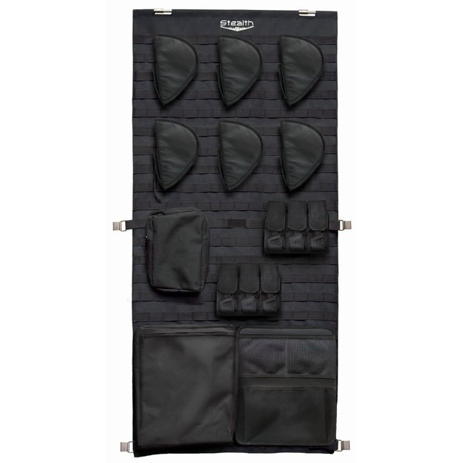 Stealth Tactical Door Panel Organizer Molle Webbing