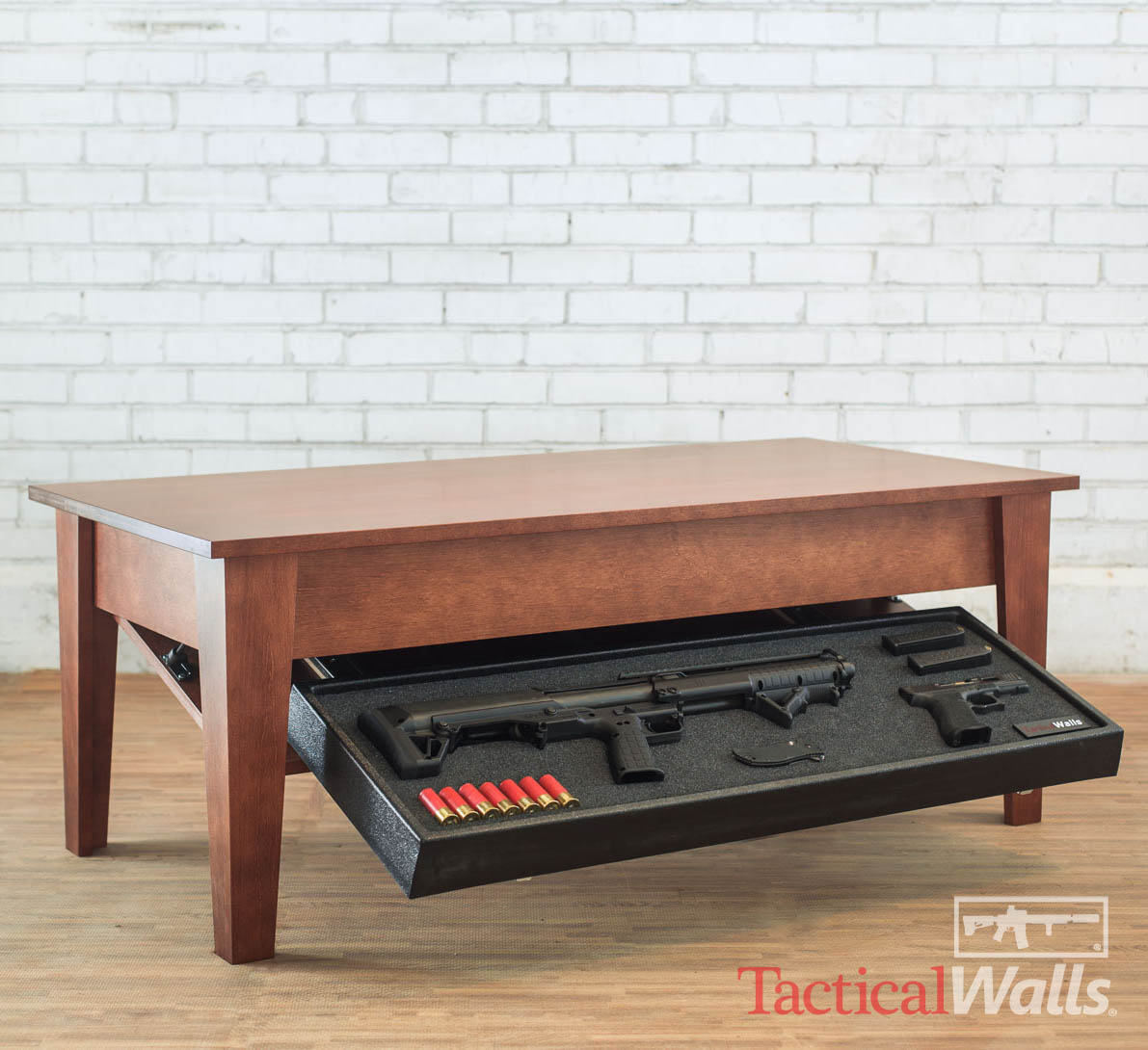 Brilliant Tactical Walls Concealment Coffee Table Rfid Lock Onthecornerstone Fun Painted Chair Ideas Images Onthecornerstoneorg