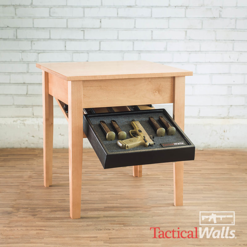 Guns On Kitchen Table: Tactical Walls End Table