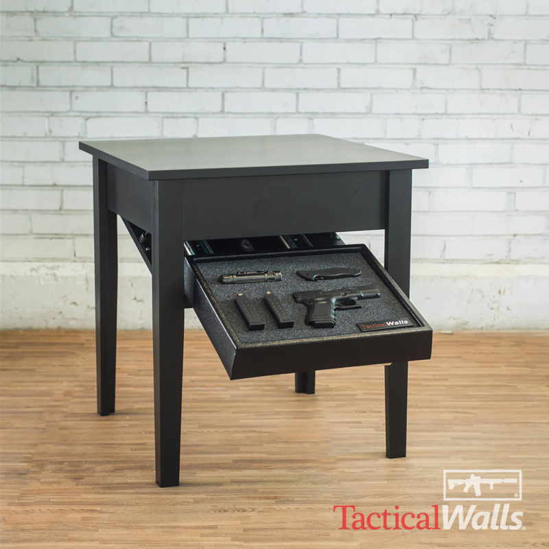 Tactical Walls End Table