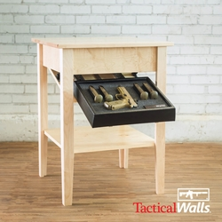 Tactical Walls - Concealment Night Table - RFID Lock