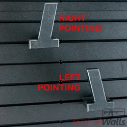 Tactical Walls - *NEW* MOD Wall - MOD Wall Left Pointing 9mm Pistol Hangar