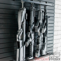 Tactical Walls - *NEW* MOD Wall - 2 MOD Wall Vertical 4 Gun Rifle Rack