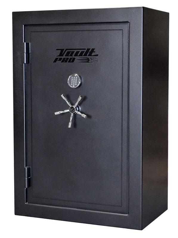 Black Gun Safe In Living Room Decor: Vault Pro Silver Eagle Series