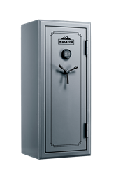 Wasatch 24 Gun Fire and Water Safe with E-Lock, Pebble Gray
