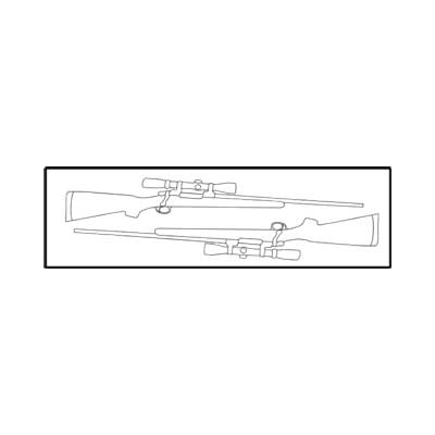 Americase AT-EC-5216L Aluma-Trans Two Scoped Rifles or