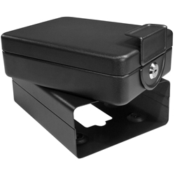 Barska AX11812 Compact Safe Key Lock Safe with Mounting Sleeve