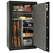 Liberty Gun Safe: RV30-DLX Revere 28 Gun Safe - 2 Color Options - LIB-RV30-BKT-CHROME M LOCK