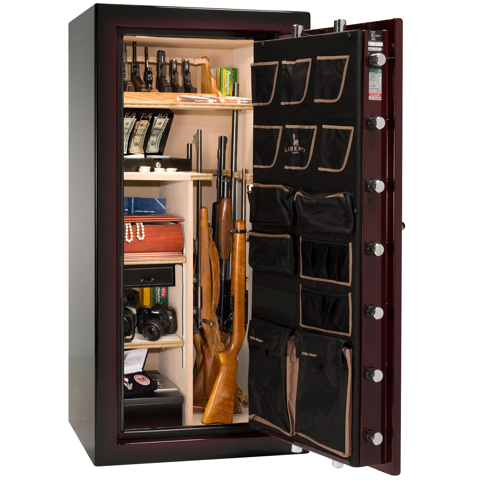 Liberty Gun Safe Ns25 National Security 22 Gun Safe 10