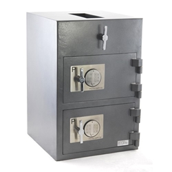 Protex RDD-3020 Top Rotary Dual Compartment Depository Safe
