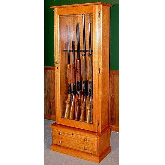 Scout 406 Gun Cabinet Solid Oak 6