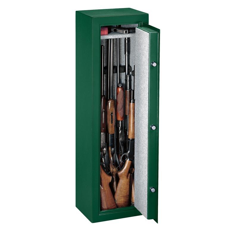 Stack On Ss Series 10 Gun Safe W Combination Lock